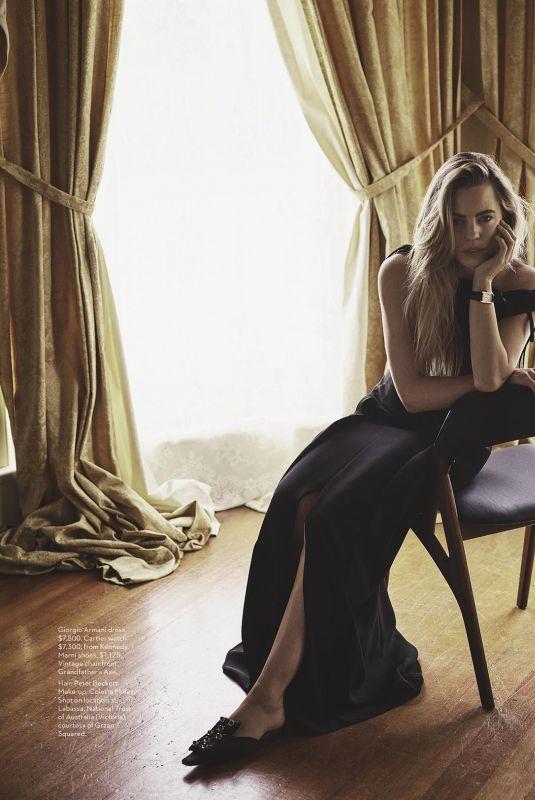 MELISSA GEORGE in Vogue Magazine, Australia January 2018