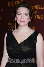 MELODY GROVE at Farinelli and the King Broadway Opening Night in New York 12/17/2017