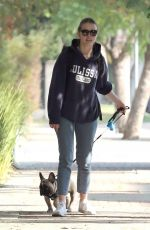 MIA GOTH Out with Her Dog in Los Angeles 12/16/2017
