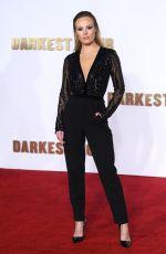 MICHELLE DEWBERRY at Darkest Hour Premiere in London 12/11/2017