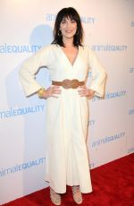 MICHELLE FORBES at Animal Equality Global Action Annual Gala in Los Angeles 12/02/2017