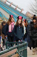MICHELLE KEEGAN at Disneyland in Paris 12/19/2017