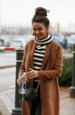 MICHELLE KEEGAN Out and About in Manchester 12/09/2017