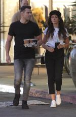 MICHELLE KEEGAN Out for Iced Coffees at Teavana in Los Angeles 12/28/2017