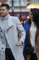 MICHELLE KEEGAN Out Shopping in London 12/13/2017