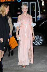 MICHELLE WILIAMS Arrives the Louis Vuitton Event in New York 12/01/2017