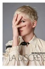 MICHELLE WILLIAMS in Elle Magazine, France January 2018 Issue
