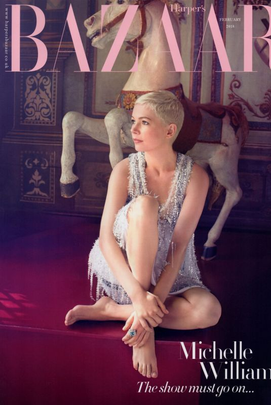 MICHELLE WILLIAMS on the Cover of Harper
