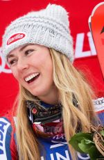 MIKAELA SHIFFRIN at Alpine Skiing Fis World Cup in Lienz 12/28/2017