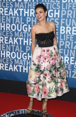 MILA KUNIS at 6th Annual Breakthrough Prize Ceremony in Mountain View 12/03/2017