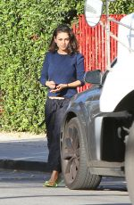MILA KUNIS Out in Los Angeles 11/30/2017