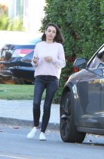 MILA KUNIS Out in Los Angeles 12/01/2017