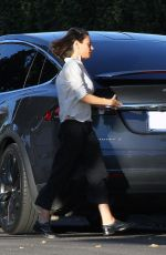 MILA KUNIS Out in Los Angeles 12/13/2017