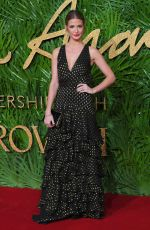 MILLIE MACKINTOSH at British Fashion Awards 2017 in London 12/04/2017