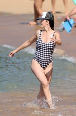 MINKA KELLY in Swimsuit at a Beach in Hawaii 12/26/2017