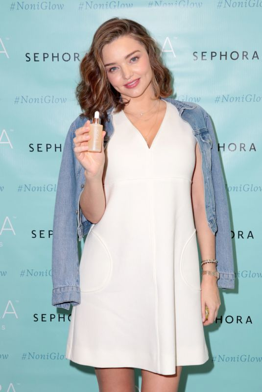 MIRANDA KERR at Kora Organics Event in Santa Monica 12/03/2017