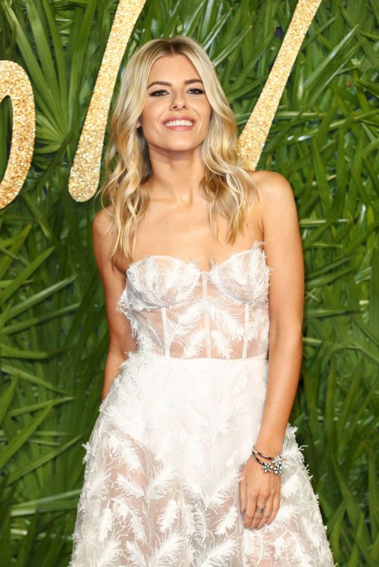 MOLLIE KING at British Fashion Awards 2017 in London 12/04/2017