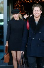 MOLLIE KING Leaves Her Hotel in London 12/16/2017