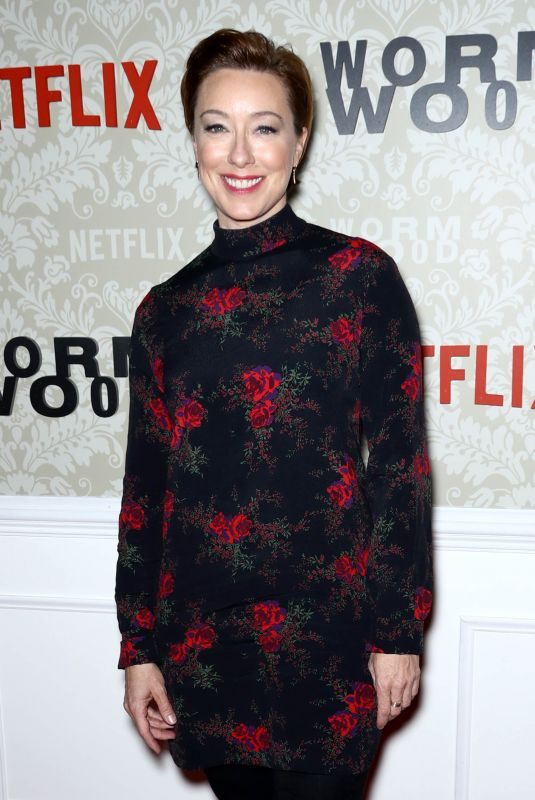 MOLLY PARKER at Wormwood Launch Party in New York 12/12/2017