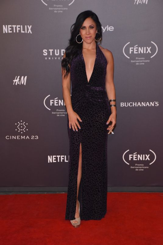 MONICA NOGUERA at Fenix Film Awards in Mexico City 12/06/2017