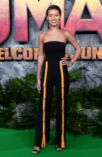 MONTANA BROWN at Jumanji: Welcome to the Jungle Premiere in London 12/07/2017