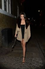 MONTANA BROWN at Notion Magazine Issue 78 Launch Party in London 12/19/2017