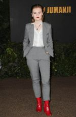 MORGAN TURNER at Jumanji: Welcome to the Jungle Premiere in Los Angeles 12/11/2017