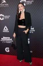 MYLA DALBESIO at Sports Illustrated Sportsperson of the Year 2017 Awards in New York 12/05/2017