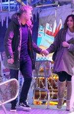 MYLEENE KLASS at Winter Wonderland in London 12/17/2017