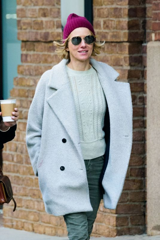 NAOMI WATTS Out and About in New York 11/29/2017