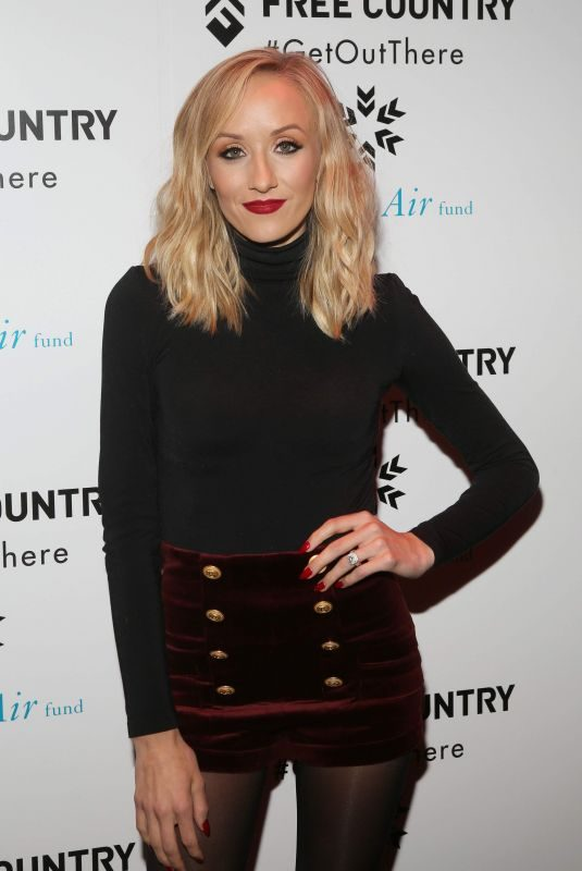NASTIA LIUKIN at Free Country and Fresh Air Fund Partnership Celebration in New York 12/19/2017