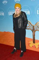 NATALIE ALYN LIND at Cirque Du Soleil Presents Luzia at Dodger Stadium in Los Angeles 12/12/2017