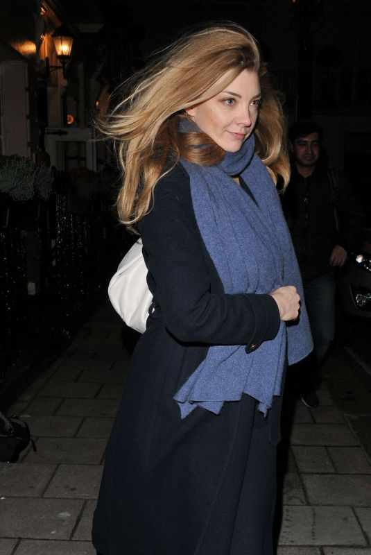 NATALIE DORMER Night Out in London 12/04/2017