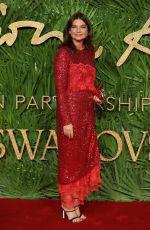 NATALIE MASSENET at British Fashion Awards 2017 in London 12/04/2017