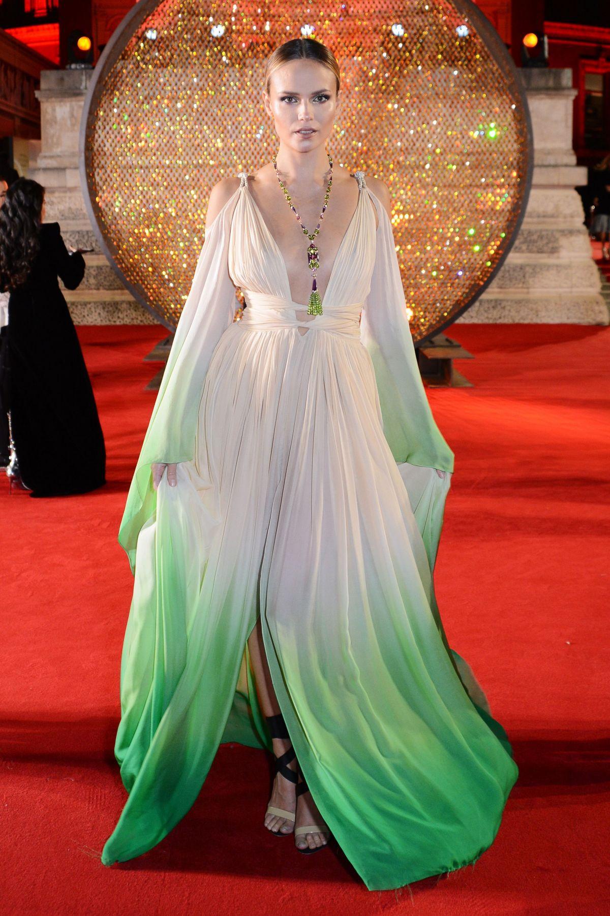 NATASHA POLY At British Fashion Awards 2017 In London 12