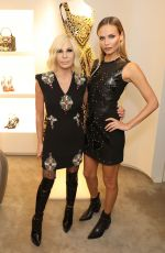 NATASHA POLY at Versace Boutique Opening on Sloane Street in London 12/05/2017