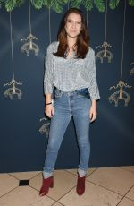 NATHALIA RAMOS at Brooks Brothers Holiday Celebration with St Jude Children's Research Hospital in Beverly Hills 12/02/2017