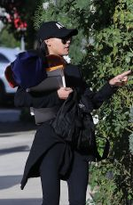 NAYA RIVERA Out in Los Feliz 11/30/2017