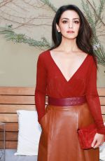 NAZANIN BONIADI at Women with Sole Luncheon in Los Angeles 12/01/2017