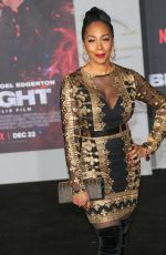 NIA JERVIER at Bright Premiere in Los Angeles 12/13/2017