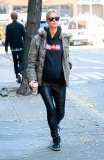 NICKY HILTON Out in New York 12/07/2017