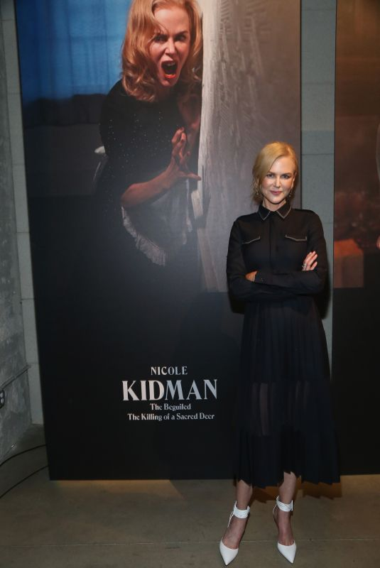 NICOLE KIDMAN at New York Times Magazine Celebrates The Great Performers Issue in Los Angeles 12/07/2017