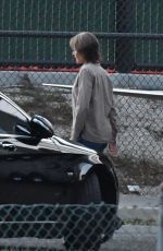 NICOLE KIDMAN on the Set of Destroyer in Los Angeles 12/08/2017