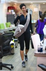 NICOLE MURPHY at a Nail Salon in Beverly Hills 12/18/2017