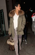 NICOLE MURPHY Out for Dinner at Catch LA in West Hollywood 12/17/2017