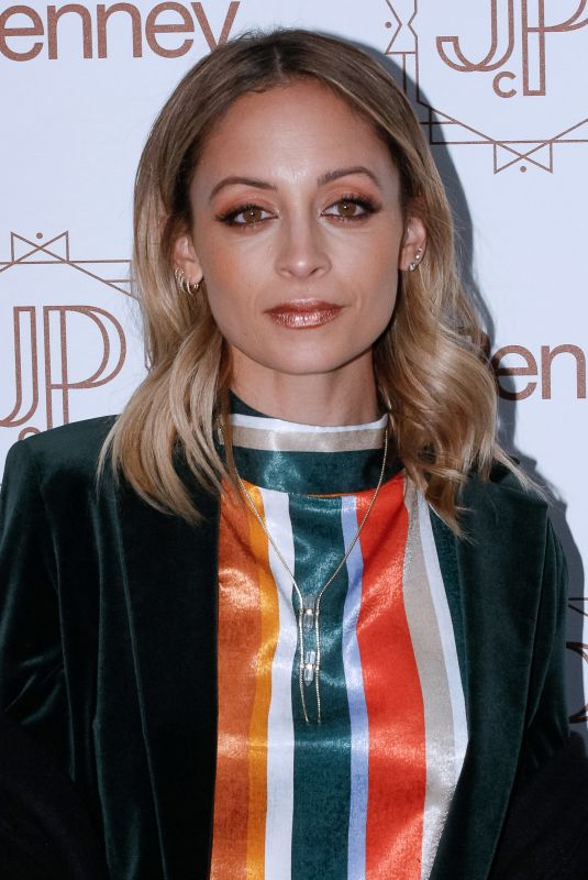 NICOLE RICHIE at Jacques Penne a JCPenney Holiday Boutique Pop-up in New York 12/07/2017