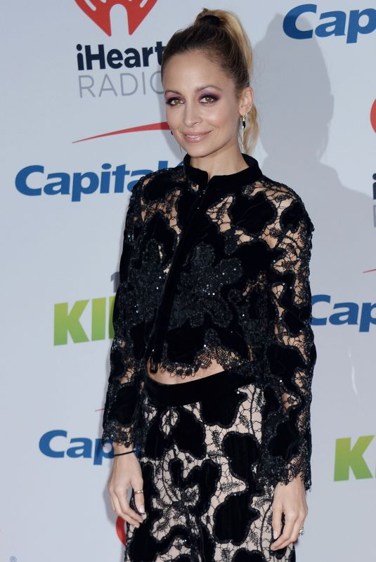 NICOLE RICHIE at Kiis FM's Jingle Ball in Los Angeles 12/01/2017