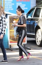 NICOLE SCHERZINGER Out and About in Los Angeles 12/08/2017