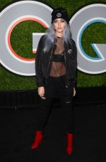 NICOLINA at GQ Men of the Year Awards 2017 in Los Angeles 12/07/2017