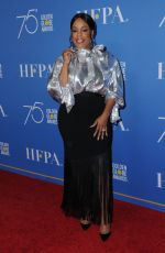 NIECY NASH at HFPA 75th Anniversary Celebration and NBC Golden Globe Special Screening in Hollywood 12/08/2017